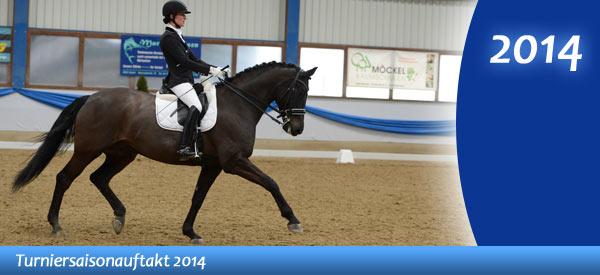 News - Pferde - 2014 - Turniersaisonauftakt - Spotlight