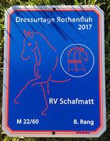 News - Pferde - 2017 - Dressurprüfungen Rothenfluh