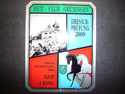 News - Pferde - 2009 - Freie Dressurprüfungen in Grüningen