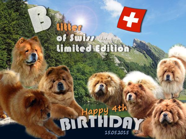 B-Wurf: Der 4. Geburtstag