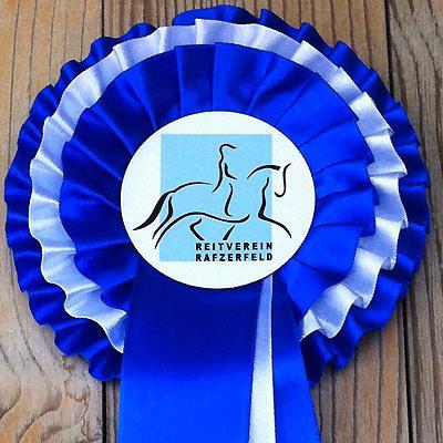 News - Pferde - 2012 - R-Schweizermeisterschaft Dressur Hüntwangen - Rosette