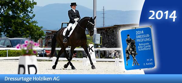 News - Pferde - 2014 - Dressurtage Holziken AG - Spotlight