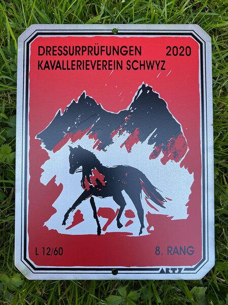 2020 - Pferdebilder - September - Dressurpüfungen Ibach SZ