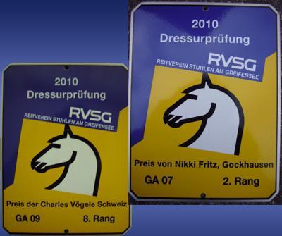 News - Pferde - 2010 - Freie Dressurprüfungen Maur