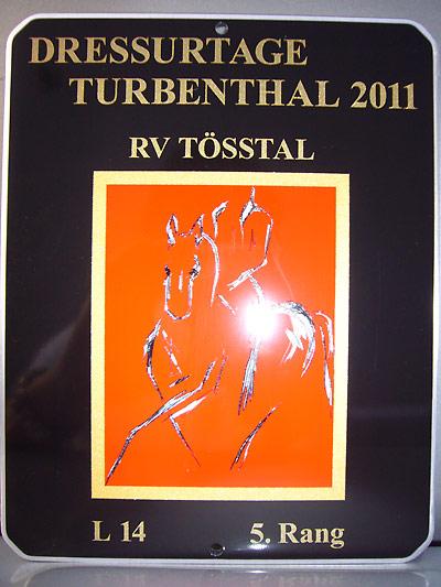 News - Pferde - 2011 - Dressurtage Turbenthal, 13.- 15. Mai 2011