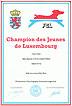 Urkunde - Bazooka - Junior Luxemburg Champion