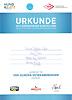 Urkunde - Unicca - Veteraneneuropasiegerin 2015